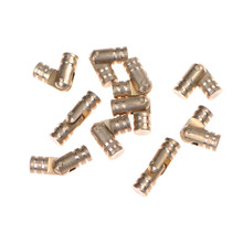JETTING Best 10Pcs Gold Copper Brass Wine Jewelry Box Hidden Invisible Concealed Barrel Hinge Finely Machined Mechanisms