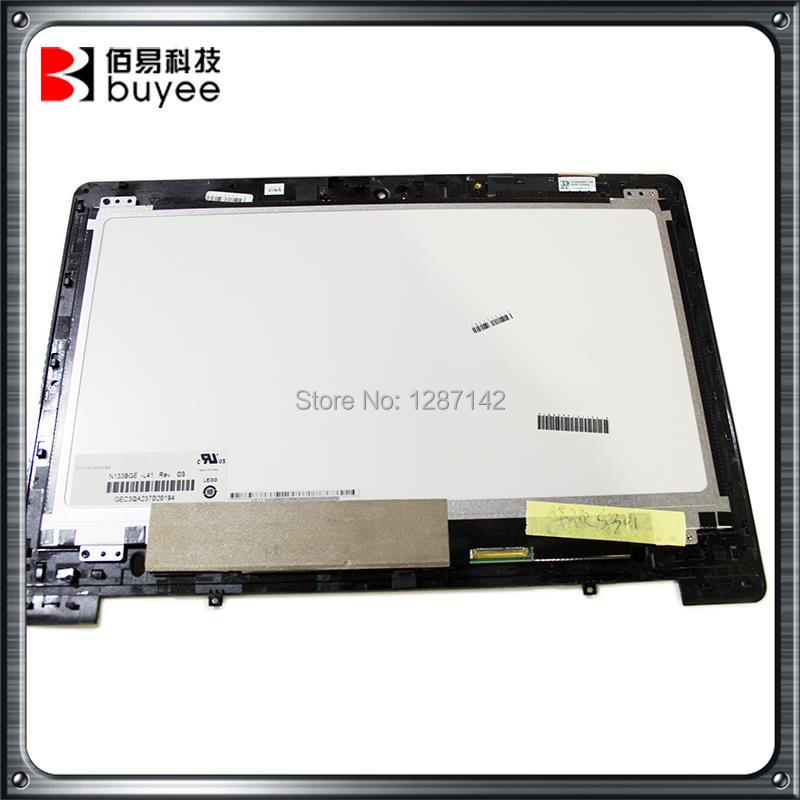 For Asus LED LCD Assembly Touch Screen Digitizer Glass 13.3 Inch S301 S301LA DA5308RA B133HTN01.0 90NB02Y1-R20020 Replacement<br><br>Aliexpress