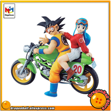 "Japan Anime ""Dragon Ball Z"" Original MegaHouse DESKTOP REAL McCOY 5 Complete Collection Figure - Son Goku & Chichi(China)"