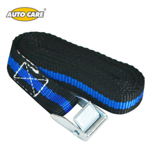 Auto Care 2pcs Pack Cam Tie Down Strap CARGO Lash Luggage Bag Belt Metal Buckle Car Trunk Baggage Adjustable Tensioning Straps(China)