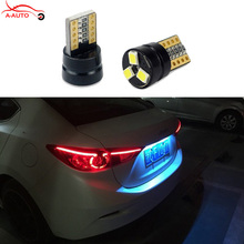2 x T10 SMD 2835 Car LED License Plate Auto Canbus Light W5W 168 194 192 For Toyota Corolla Avensis Yaris Rav4 Auris Hilux Prius