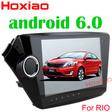 Android 6.0 for Kia k2 RIO 2010 2011 2012 2013 2014 2015 2 din 9 inch 1024*600 Wifi SD/USB Radio Car dvd player GPS navigation