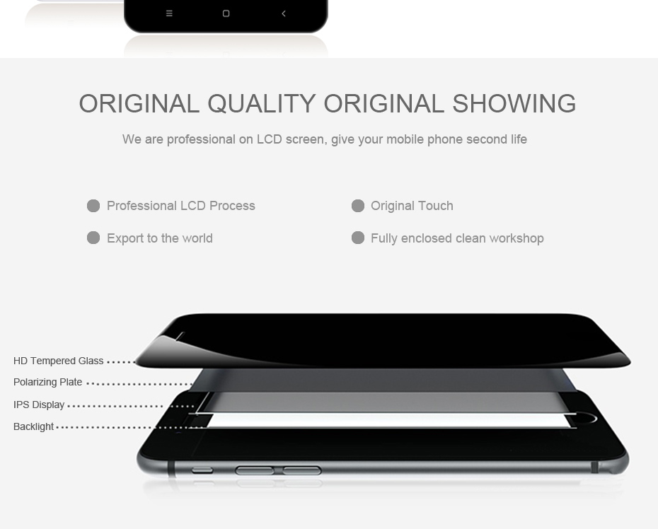 HORUG 100% AAAA Original LCD For Xiaomi Redmi 4X Screen LCD Replacement Display Touch Redmi 4X Screen Kits Quality Screen LCDS (9)