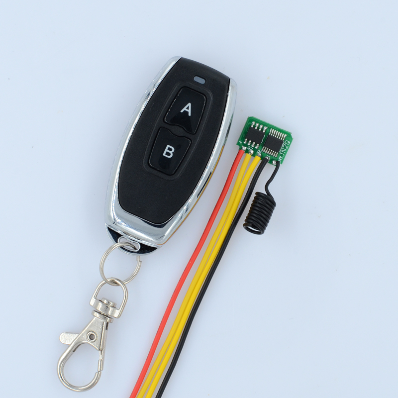 433MHZ Mini Receiver 2CH Mos Remote Switch Momentary Small Low Consumption Wireless Switch 3v 3.3v 3.6v 3.7v 4.2v 5v<br><br>Aliexpress