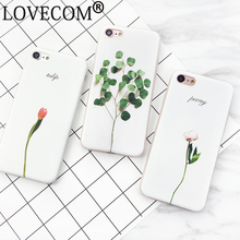Buy Fashion Floral Painted 3D Leaves Phone Cases iPhone 7 7 plus 6 6s plus Soft Silicone Flower Back Case Cover Coque Capa for $1.21 in AliExpress store