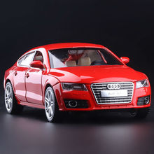 High Simulation Exquisite Collection Toys Car Styling Audi A7 Model Decoration 1:32 Alloy Car Model Excellent Gift Free Shipping(China)