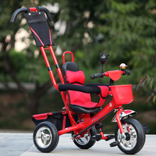 Child bicycle Outdoor Fun Sports Ride On Toys Tricycle Baby Bicycle Stroller Infant Stroller Ride On Cars toys