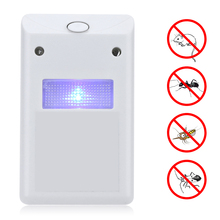 220V Ultrasonic Electronic Mouse Repeller Mosquito Killer Pest Control Electromagnetic Wave Rat Repellent EU US Plug