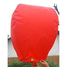 white Sky Lanterns,Wishing Lantern fire balloon Chinese paper Kongming lantern Wishing Lamp high quality(China)