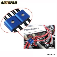 AUTOFAB - 2 ENGINE SPARK PLUG WIRE SEPARATOR DIVIDER CLAMP FOR CAR MOTORCYCLE BIKE AF-DXJ02