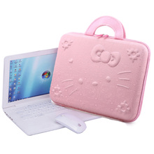 EVA hard shell Laptop bag 10 12 14 15 inch lovely Fashion Waterproof Computer bag men women Portable Sleeve Notebook bag