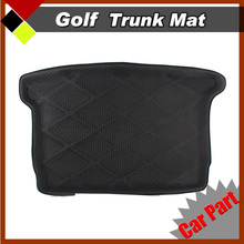 Ultra Best All Weather Heavry Duty Tray Boot Liner Auto Tail Floor Protector Carpet Car Trunk  Mat  Fit Golf 6 2009-2012