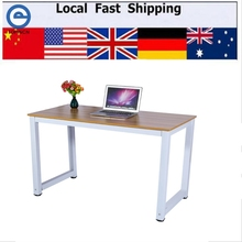 Modern Wooden & Metal Computer PC Home Office Desk Table Functional Study Table New(Hong Kong)
