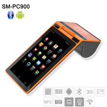 Free SDK Android Handheld Mobile POS Machine Dual Screen POS System All in One Tablet POS Terminal with Thermal Printer