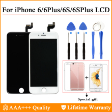 AAA+++ For iPhone 6 6Plus LCD With 3D Touch Screen Digitizer Assembly 6S Plus Display 100% Brand New High Quality Free Shipping