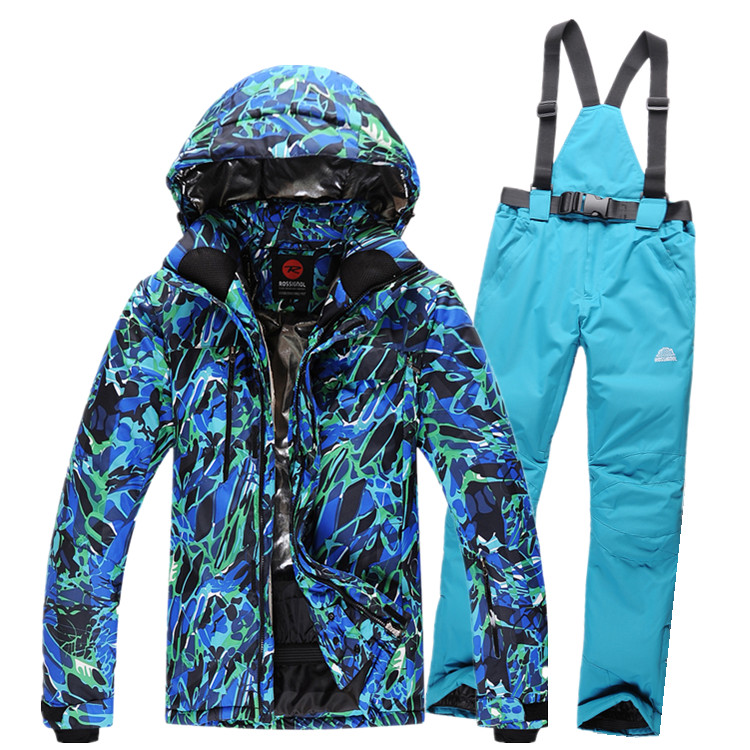 Free shipping 2016 new mens ski suits snowboard jacket + pants men waterproof,breathable thermal cotton-padded super warm<br><br>Aliexpress