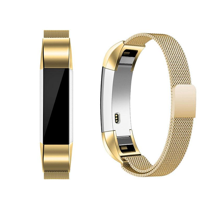 Amzdeal Fashion Metal High Quality Replacement Strap Wrist Band Belt for Fitbit Alta Bracelet HR Monitor Smart Watch Accessories 4