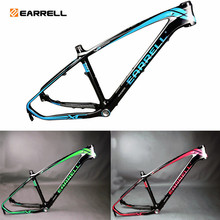 EARRELL carbon road frame mtb bike accessories, frame bicicletas mountain bik29 brompton,fixed gear frameset fat bike(China)