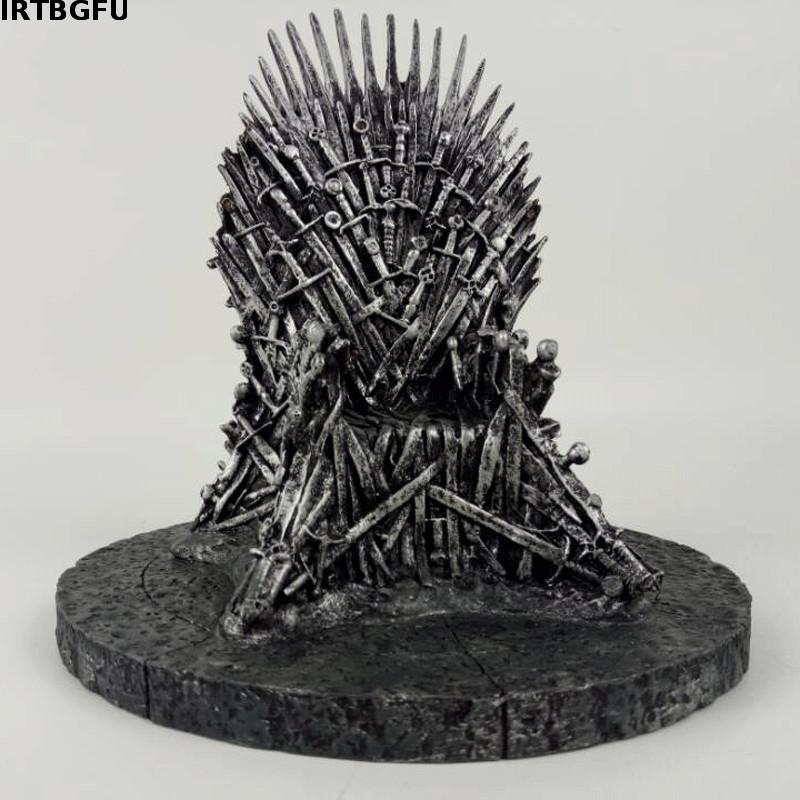 17cm The Iron Throne Game Of Thrones A Song Of Ice And Fire Figures Action & Toy Figures One Piece Action Figure Good Quality(China (Mainland))