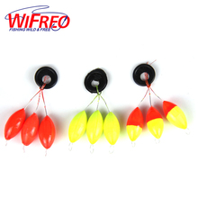 [10set=30pcs] New Seven-star Oval  fishing float Space beans Easy Use Floater are put on the like a stopper and be fixed