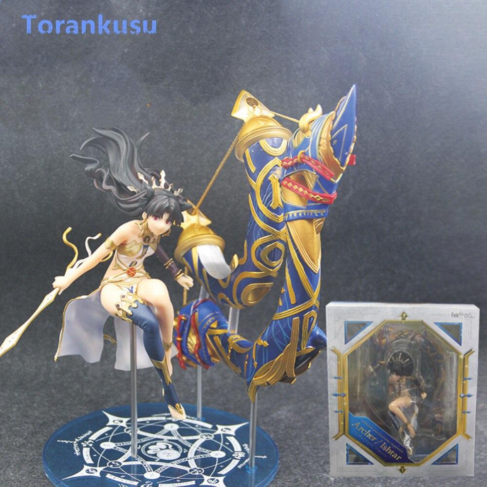 Fate/Grand Order Ishtar Archer Tohsaka Rin Goddess Action Figure PVC Figuras Anime Fate Figure Figma Doll Gift Toys Model PG