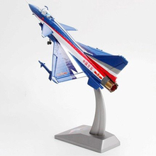 "kids toys 1/60 J-10 Vigorous Dragon ""Firebird"" Diecast Fighter Perform Airplane Aircraft model Toy for Collection new year gift(China)"