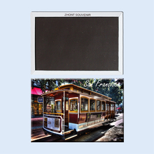 San Francisco The United States   22558  gifts for friends   Landscape  Magnetic refrigerator   Travel souvenirs