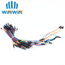 65pcs=1set Jump Wire Cable Male to Male Jumper Wire Breadboard