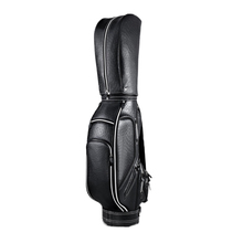 PGM high-end quality golf leather ball bag 3 color optional large capacity