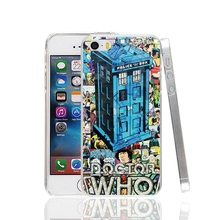 23309 London Old police call box Cover cell phone Case for iPhone 4 4S 5 5S SE 5C 6 6S 7 Plus