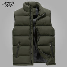 Buy Vest Men New Stylish Spring Warm Sleeveless Winter Jacket Men Army Waistcoat Mens Vest Fashion Autumn Casual Coats Plus Size 6XL for $19.52 in AliExpress store