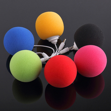 mini speakers new style using mobile phone 3.5 port Portable balloon small speakers free shipping