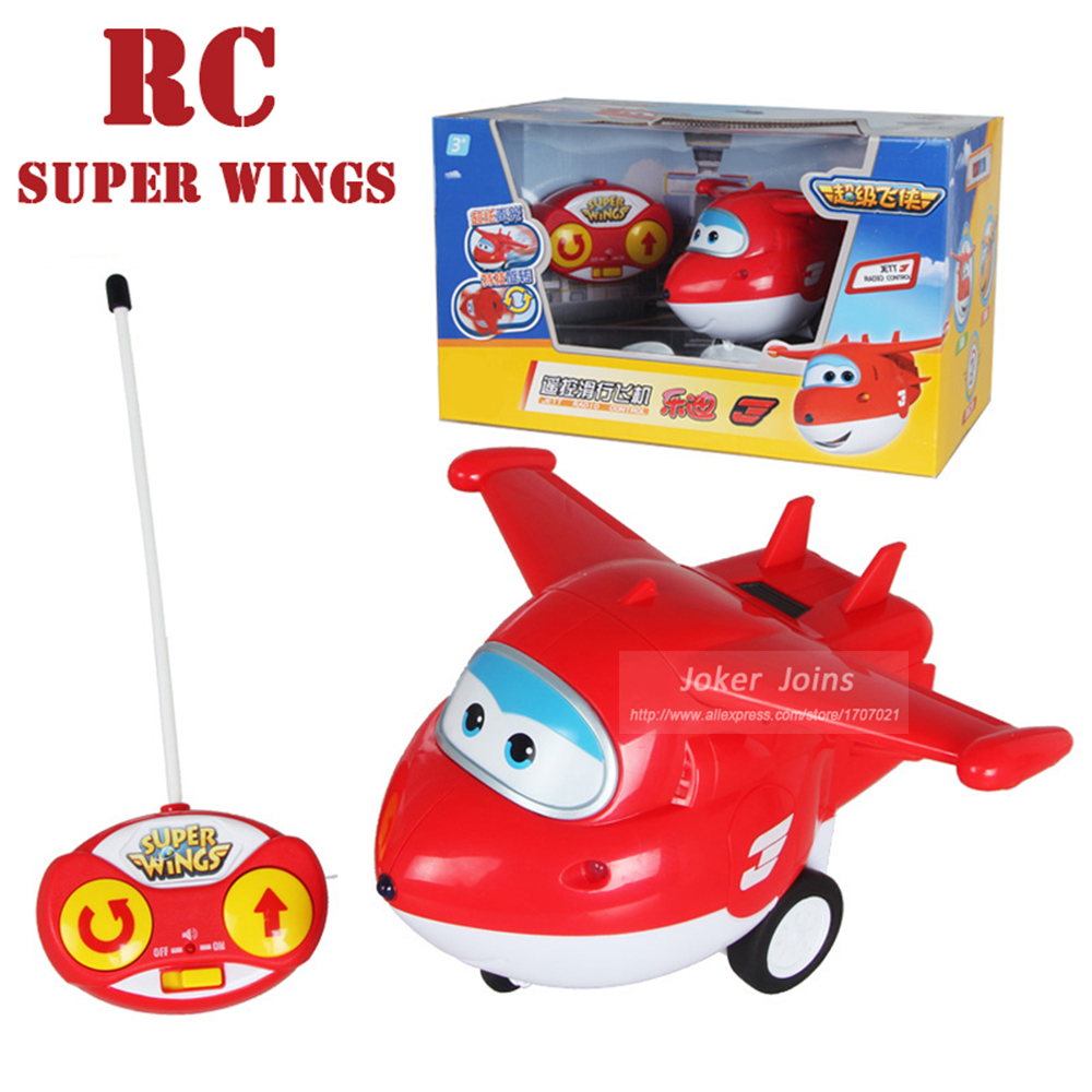 Remote Control Super Wings Action Toys Figure RC Planes Super Wing Toys<br><br>Aliexpress