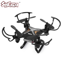 SBEGO-129 Mini Drone Foldable Micro RC Quadcopter Helicopter With Headless Mode Portable LED 4CH 6Axis Gyro RTF Drone Pocket Toy