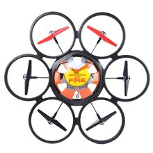 Fashion 2Colors Ready- tp -go WLtoys Headless Flying Saucer 2.4G 6-Axis Gyro Remote Control Hexacopter Flying Saucer Drone Toy(China)