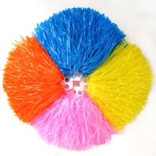 Cheerleading Pom Poms Cheerleader Supplies Fake Flowers for Game Dance Party Use Pompoms Competition Ball Flower,250g,1-12pcs,PE
