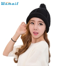 Elegant Nobility Winter Women's Candy Beanie Knitted Caps Crochet Hats Cute Casual Cap Women Beanies Fun1014