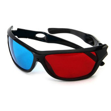 NEW Red Blue Plasma TV Movie Dimensional Anaglyph Framed 3D Vision Glasses   CX88