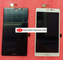 LCD Display + Touch Digitizer Screen glass  for   Pantech Vega SKY A850 A850K A850L A850S R3 White Black color free shipping