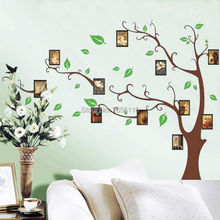 Photo Frame Tree Wall Sticker Home Decorations Decals for Living Bedroom Office DIY Mural Arts
