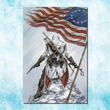 Assassins Creed 3 4 Black Flag Art Silk Canvas Poster Huge Print 13x20 24x36 inches Game Wall Pictures (more)-3