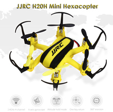 JJRC RC Drone Dron Radio Control Fly Helicopter 3D Rollover Hexacopter 2.4GHz 4CH 6 Axis Gyro RTF Drones with Light Quad Copters(China)