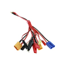 Multifunctional Cable Lipo Battery Multi Charger Plug Convert Cable 11 in 1 Transfer Line RC Hobbies Accessories(China)