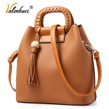 Buy Valenkuci brand 2017 women handbags vintage cross body bag women shoulder bags tassel women messenger bags ladies SD-637 for $27.99 in AliExpress store