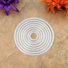 SPECIAL OFFER Round Sewing Thread Metal Die cutting Dies For DIY Scrapbooking Photo Album Decorative Embossing Folder KW610318(China)