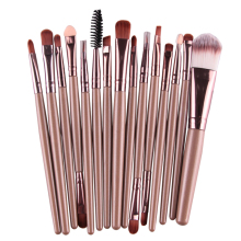 Buy 15Pcs Makeup Brush Set Eye Shadow Foundation Eyebrow Eyeliner Eyelash Lip Brush Makeup Brushes Cosmetic Tool Make Eye Brush for $4.99 in AliExpress store