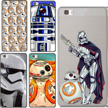Star Wars The Force Awakens BB-8 Droid Robot R2D2 Cover Case For Huawei  P6 P7 P8 P8Lite P9 P9 Lite For Sony  Z1 Z2 Z3 Z4 Z5