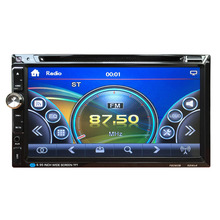 New 7 Inch TFT Car Vehicle  Large Touch Screen Display Dual Din DVD Player Multimedia Player Car Entertainment 12V Hot