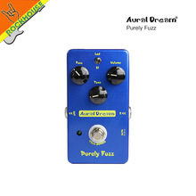 AuralDream Classic Fuzz Guitar effect pedal Fuzz Distortion Pedal Dual models Reproduce 60's MKIV MK2 True Bypass Free Shipping(China)