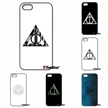 For Motorola Moto E E2 E3 G G2 G3 G4 PLUS X2 Play Style Blackberry Q10 Z10 Cool Harry Potter Deathly Hallows logo Phone Covers